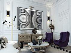 Apartmento em Saint Germain by Ando Studio | tempodadelicadeza