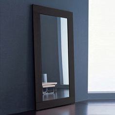 Black Framed Mirror 46x76 In Future House Pinterest