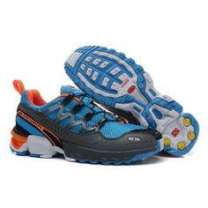 Køligt Salomon GCS Athletic Trail Blå Sort Orange Herre Skobutik | Nyeste Salomon GCS Athletic Trail Running Shoes Skobutik | Salomon Skobutik Billige | denmarksko.com