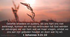1 Johannes 3:21-22 - dailyverses.net