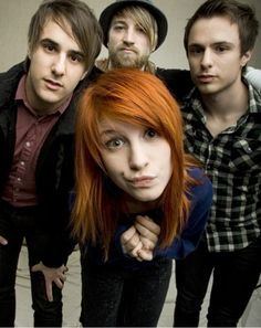 the OLD BETTER Paramore. Come back Josh Farro): I LOVE YOU<3 I miss your Riot album musicality