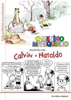 Calvin e Haroldo – Fan Art | Catálise Crítica