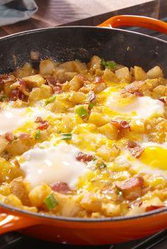 Loaded Breakfast Skillet  - Delish.com