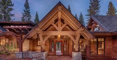 attracting timberframe