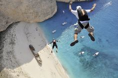 BASE jumping may be the craziest sport —but it's also the most incredible, as these shots show.