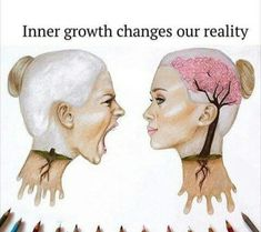 Inner growth changes our reality. Getting this pin from my daughter makes me know lessons are taking root.