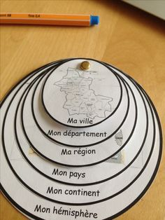 lapbook de géographie - schoolitude