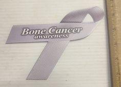 Bone Cancer Awareness Magnetic Ribbon