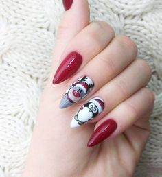 45 Amazing Winter Nail Art Designs 2018 Ideas 45 Amazing Winter Nail Art Designs 2018 IdeasNail art is now famous in the past few years and its popularity is increasing. It's typically a Christmas Nail Art Designs, Winter Nail Designs, Christmas Design, Winter Nail Art, Winter Nails, Holiday Nails, Christmas Nails, Christmas Tree, Nail Noel