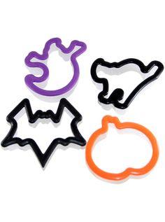 """Grippy Ghouls"" Cookie Cutters (4pc) #Inkedshop #cookiecutter #baking #kitchen #cutter #halloween"