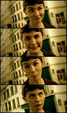 Audrey Tatou expressions