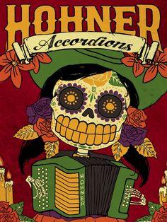 Dia de Los Muertos Sign