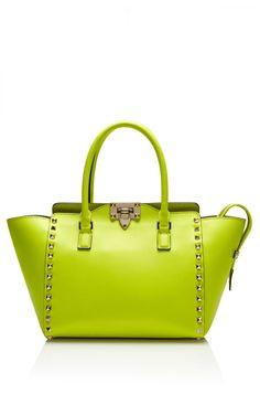 Rockstud Mini Shopper by  for Preorder on Moda Operandi