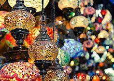 Istanbul lanterns by Jammir, via Dreamstime