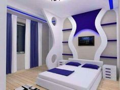 20 Modern Bedroom Design Ideas For a Perfect Bedroom - Decor Units Bedroom False Ceiling Design, Modern Bedroom Design, Bed Design, House Design, Bedroom Wall Paint Colors, Room Wall Painting, Bedroom Decor, Bedroom Ideas, Apartment Interior Design