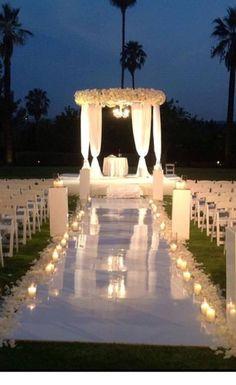 25 Outdoor Night Wedding Ceremony For Romantic Wedding 25 Outdoor Night Wedding Ceremony For Romantic Wedding – OOSILE. Wedding Ceremony Ideas, Outdoor Night Wedding, Romantic Wedding Receptions, Outside Wedding, Wedding Night, Outdoor Ceremony, Wedding Sets, Romantic Weddings, Wedding Venues