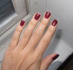 Ruby Pumps.  My all-time favorite nail polish color.