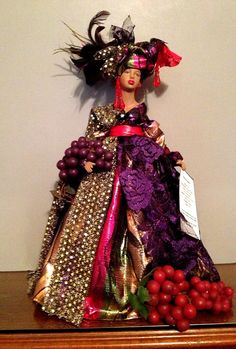 African American Handcrafted Black Doll Kwanzaa by Divineangelshop, $85.00