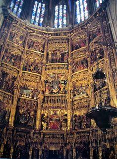 Retablo mayor de la Catedral de Oviedo
