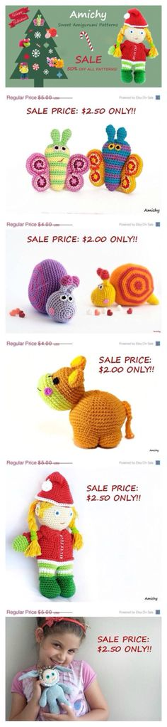 Only a few days left! Buy your 50% off #crochet #amigurumi #patterns now