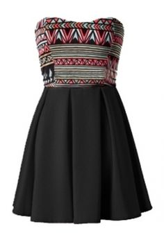 TRIBAL SKATER DRESS $29.00