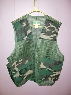 Game Winner Sportswear Mesh Camouflage Hunting Shooting Camo Men's Vest XL XXL   eBay