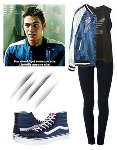 """""""Liam Dunbar 5x14 - tw / teen wolf"""" by shadyannon ❤ liked on Polyvore featuring STELLA McCARTNEY, adidas, Zara and Vans"""