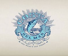 c6c5ffd30a Costa Del Mar by Mc Garrah Jessee Logo Design Love