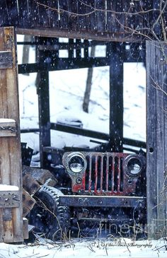 A Jeep that wants to play again.