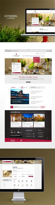 #Cathedral Guest House #WebDesign #Design #Ecommerce