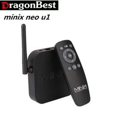 989.49$  Buy here - http://ali297.worldwells.pw/go.php?t=32703433433 - 10pcs MINIX NEO U1 Android 5.1.1 TV Box Amlogic S905 2G/16G Quad-core Cortec-A53 Streaming Media Player Support 4K fully loaded 989.49$