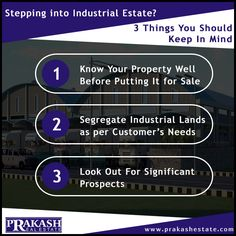Are your looking for the ideal industrial land in Ahmedabad? Prakash Estate will take care of all your industrial land needs and will get you the best industrial land and profitable deal in city.  http://www.prakashestate.com/industrial-land  #PrakashEstate #IndustrialLand #IndustrialLandBroker