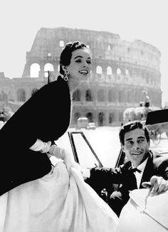 Roman lovers. Harper's Bazaar, 1953