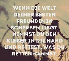 Scherben+Kleber+beste Freundin=Rettung