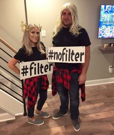 Struggling to find a Halloween costume? Look through this list of 20 Funny Halloween Costumes. Halloween costumes should be fun and easy, too! Cool Halloween Costumes, Halloween 2019, Holidays Halloween, Diy Costumes, Diy Halloween, Clever Costumes, Halloween Couples, Meme Day Costumes, Funny Costumes