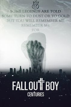 """I love this edit♥ What do you guys think about """"Centuries?"""" I think it's amazing! But I do have an obsession with Fall Out Boy haha"""