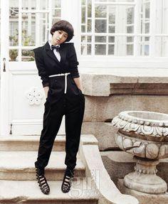 Park Shin-hye is Korean Vogue Girl