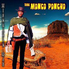 Monco Poncho - Miserable Man, Blue