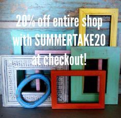 20% off everything in my shop!  Coupon code SUMMERTAKE20 https://www.etsy.com/shop/turquoiserollerset