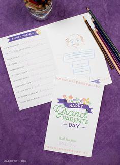 Free Grandparents Day Printable