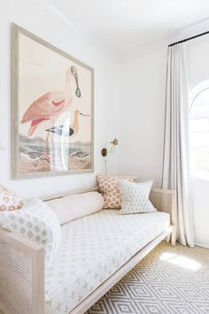 Trending Cane Furniture is part of Daybed design Take a good look at your most favorite spaces, and I guarantee you'll spot a cane piece tucked inside This seventies staple is back in a big way, - Girl Room, Daybed Design, Bedroom Decor, Furniture, Daybed Room, Kid Room Decor, Kids Bedroom Furniture, Kids Room Furniture, Bedroom Furniture