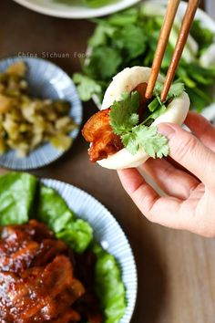 Hoisin Pork with Steamed Buns – China Sichuan Food