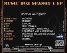 New EP Drop: Gabriel YoungStar – Music Box Season 1 EP – Rhythm And Beatz Season 1, Girls Night, Edm, Good Music, Gabriel, Music Videos, Dancer, Social Media
