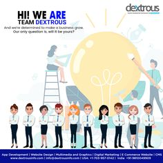 Unable to achieve the desired results from your business? As an experienced and able Web Development and Digital Marketing agency, Dextrous Infosolution helps you adopt the right business strategy that is tailor-made for your business. For a free quote, call us today. Seo Marketing, Digital Marketing Services, Online Marketing, Web Development Agency, Free Quotes, Ecommerce, Adoption, Web Design, This Or That Questions