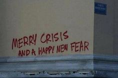 fear, crisis, and christmas image