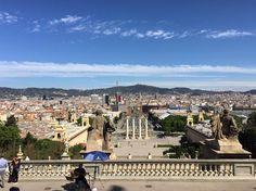 Ja soc aquí. Como echo de menos esta ciudad. Eran buenos tiempos.  #monjuic #barcelona #bcn by borjamarinosa