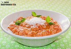 Pesto trapanese enlace de trucos de cocina> http://www.directoalpaladar.com/recetas-vegetarianas/como-hacer-facilmente-agua-de-tomate-transparente-receta
