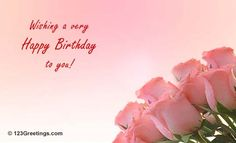 Wish someone a very happy birthday with these flowers. Free online It's A Lovely Day ecards on Birthday Very Happy Birthday, Flowers, Royal Icing Flowers, Flower, Florals, Floral, Blossoms