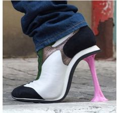 SOOOOOO COOL!!! These are high heels! Amazing!