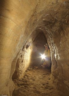 Going underground: The massive European network of Stone Age tunnels that weaves from Scotland to Turkey